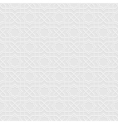 Grey Seamless Pattern in Arabian style vector image vector image
