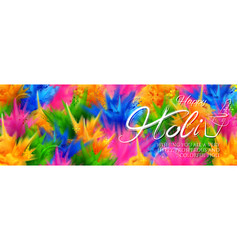 colorful promotional background for festival of vector image