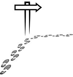 Signpost vector
