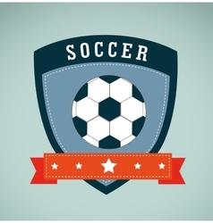 Soccer league design vector