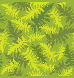 tropical leaves floral seamless pattern vector image