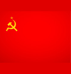 Ussr flag vector