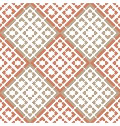 small hearts seamless vector image
