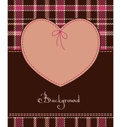 valentine romantic heart vector image