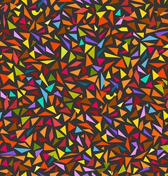 Abstract seamless background of color splinters vector image vector image