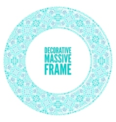 ornate frame in Victorian style Decorative vector image