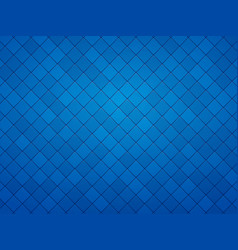 blue geometric mosaic textured background vector image