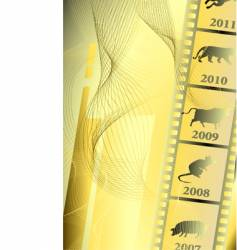 film astrology vector image vector image