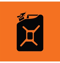 Fuel canister icon vector image