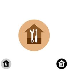 House service logo vector