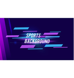 Modern colored poster for sports with elegant vector