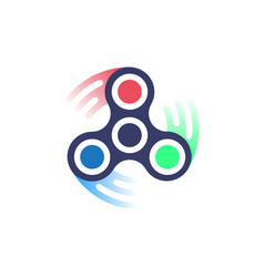 Spinner icon simple style vector