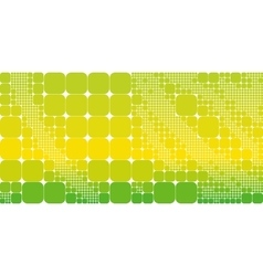 Square yellow green geometrical abstract vector