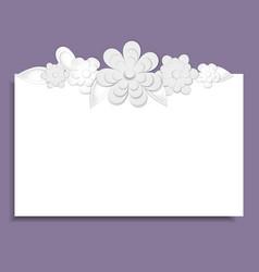 Template for postcardinvitationweddingparty vector