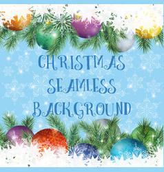 christmas holiday seamless vector image vector image