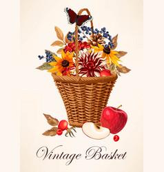 A basket vector