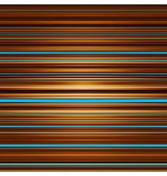 Abstract striped blue brown and orange background vector image