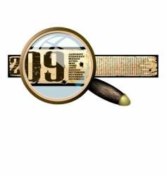 calendar 2009 banner vector image vector image