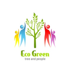 Eco Green icon vector image