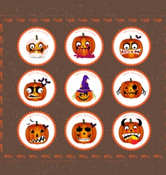 Halloween printables vector