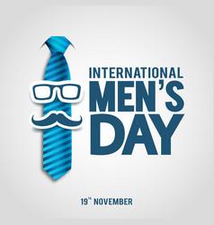 International mens day vector