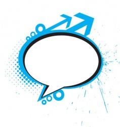 Messenger window vector