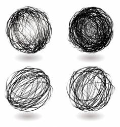 Scribble nest variation vector