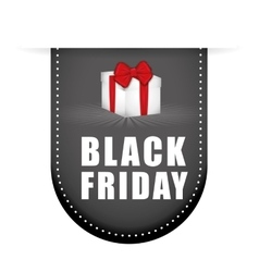 Black friday shopping season vector image vector image