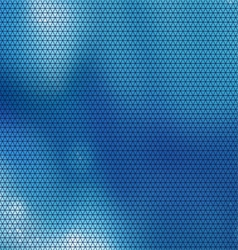 blue triangle vector image