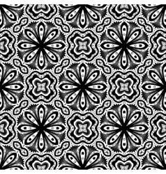 Flower pattern intricate luxury damask vector