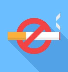 No smoking icon vector image vector image