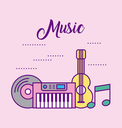 funny classical music vector image