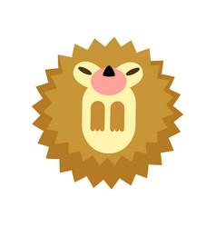 Hedgehog flat vector