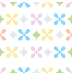 Pastel seamless pattern vector