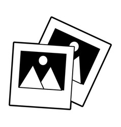 Photographs icon imag vector