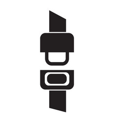 Safety belt icon design vector