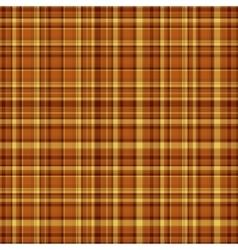 Checkered fabric tartan textile vintage vector