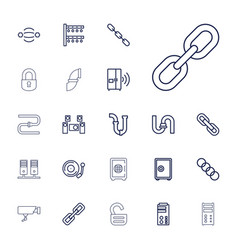 22 system icons vector