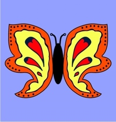 Butterfly image 1 vector