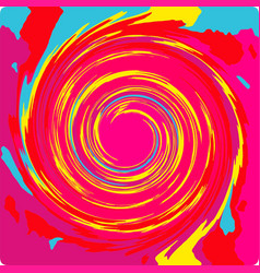 Colorful swirl vector