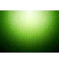 Green technical abstract background vector