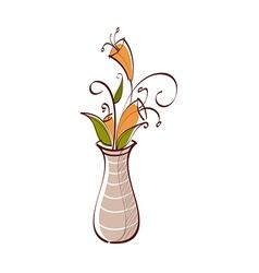 Icon vase vector