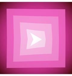 Modern blue arrow creative clean background vector image