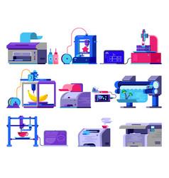 Printer print machine technology office vector