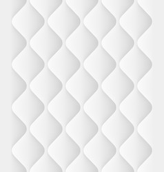 quilted seamless pattern with waves eps 10 vector image