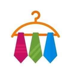 Three Ties vector image
