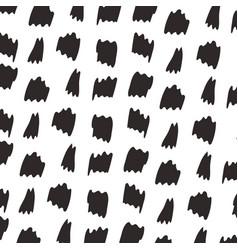 animal skin print pattern abstract brushes blacks vector image