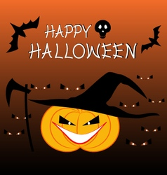 halloween celebration backgrou vector image
