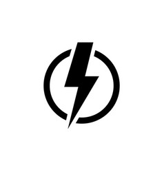 Power icon isolated on white background vector