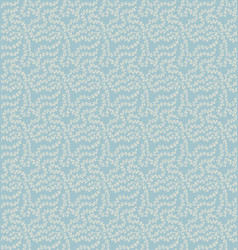 Seamless pattern in light blue vector